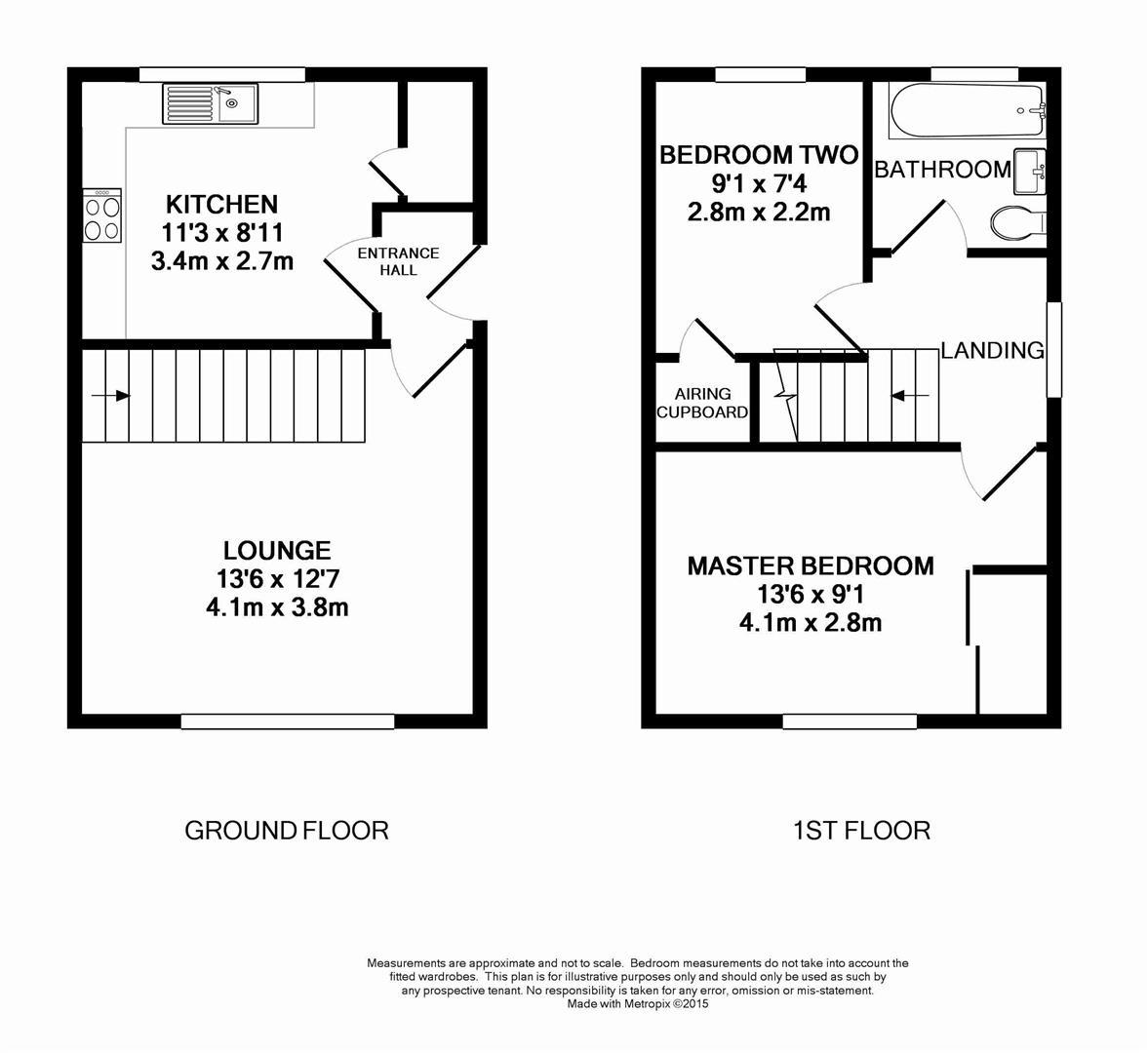 Floorplan for Primrose Copse, Horsham